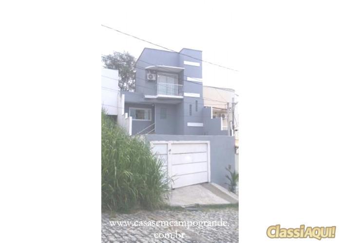 Campo Grande - Casa 3 Quartos/2 Suítes - 150m2 - 2 Vagas - Aceita Carta/FGTS