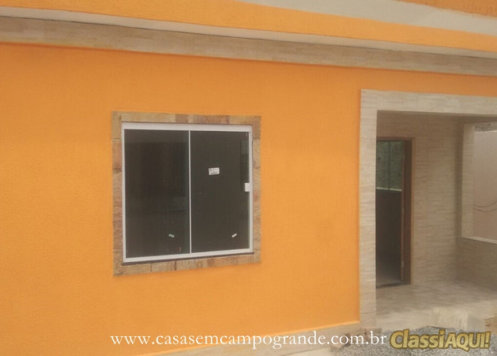 Campo Grande - Casa Linear 2 Quartos Toda Reformada - 70m2 (Terreno: 250m2) - Facilita Pagamento