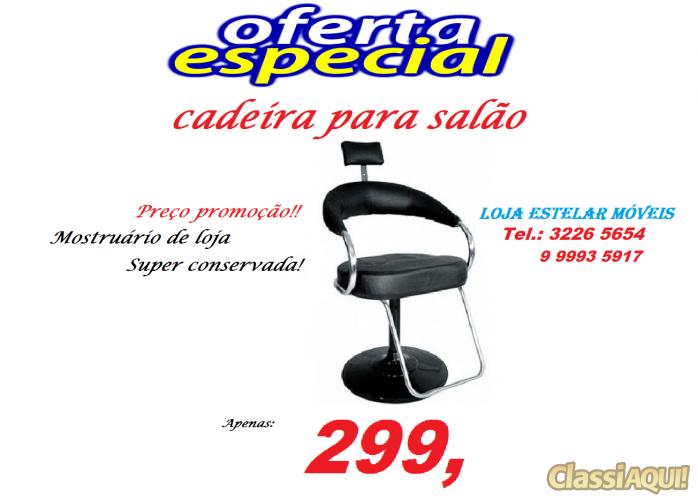 Cadeira giratória de salão beleza