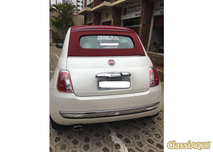 Fiat 500 Cabrio Air Conversível  Automático