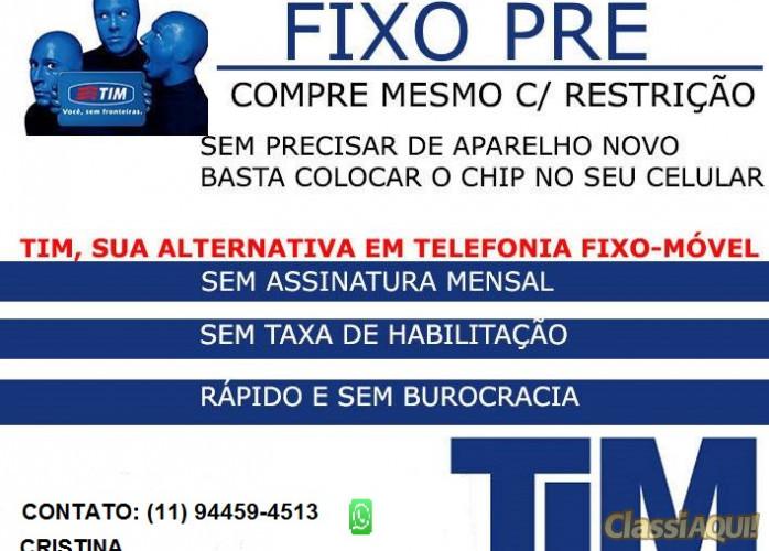 TELEFONE FIXO SEM BUROCRACIA E SEM CONTAS MENSAIS
