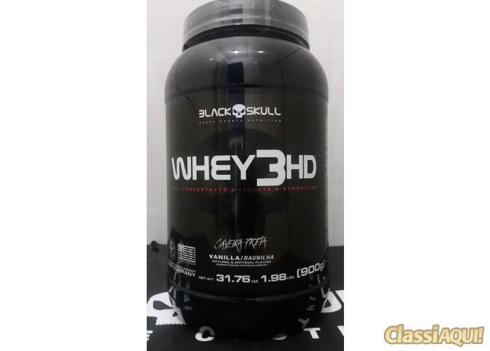 whey 3HD 907g R$ 100,00 black skull