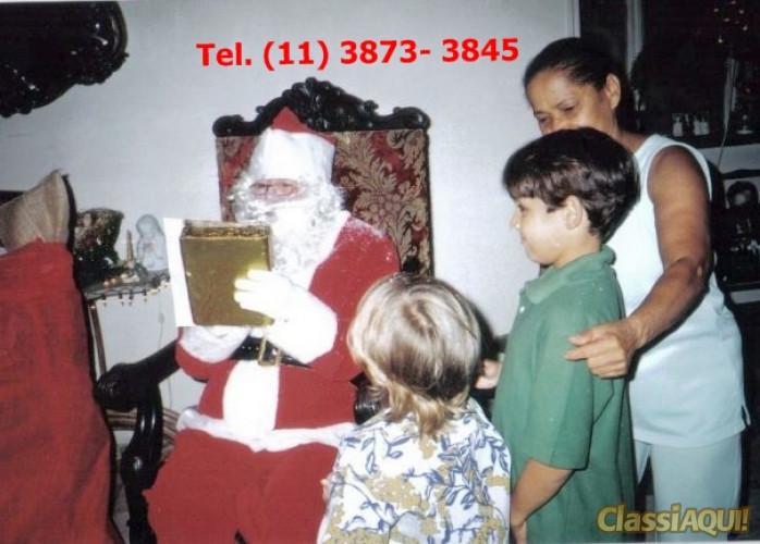 Papai Noel para entrega de presentes, residencias, empresas , escolas