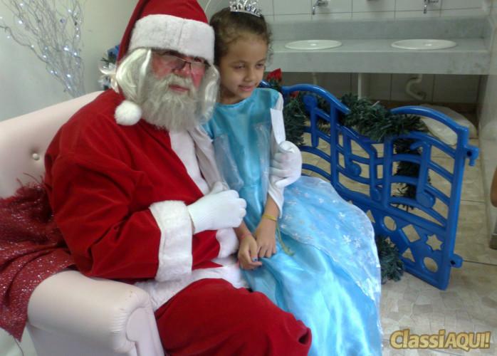 papai noel para entregas de presentes