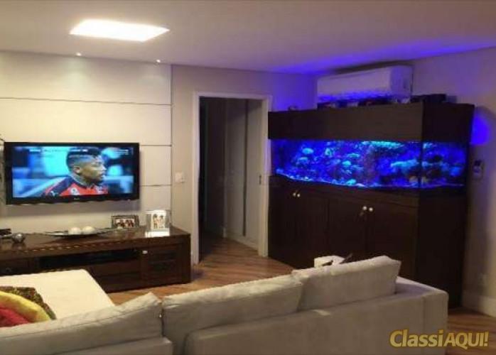 Apartamento Mobiliado 3 Suítes 102 m² Alegre Gran Condominium em São Caetano do Sul - Bairro Santa Paula.