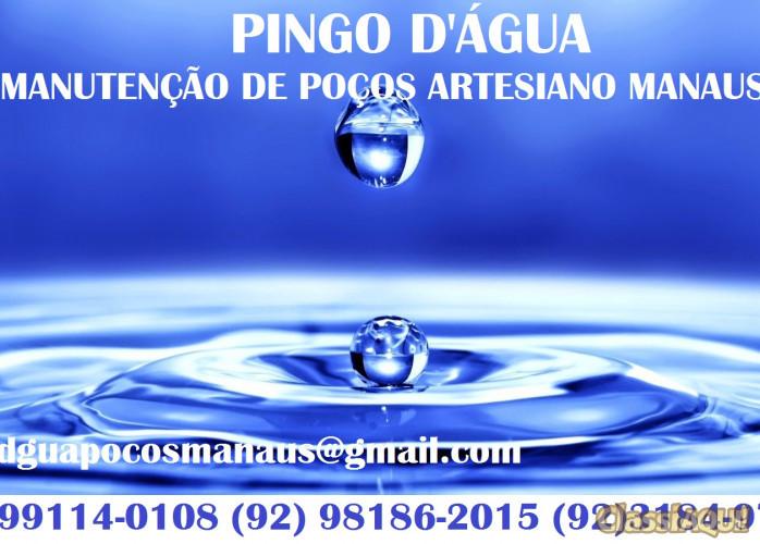 PINGO D'ÁGUA MANUTENÇÃO DE POÇOS MANAUS