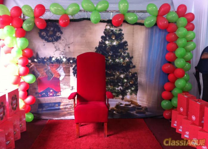 Trono do Papai Noel