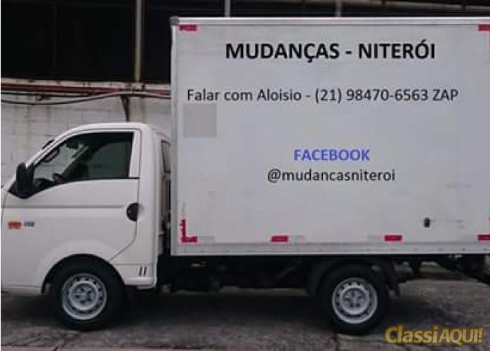 MUDANÇAS / FRETES / NITERÓI/RIO DE JANEIRO/REGIÃO DOS LAGOS