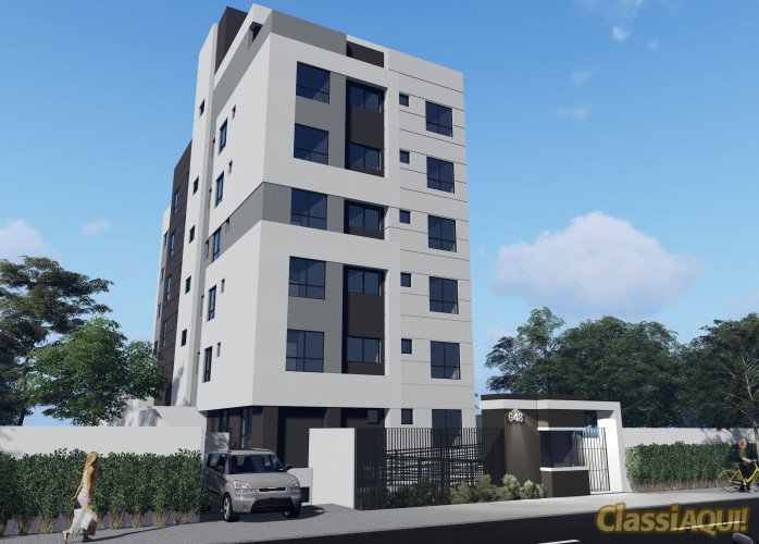Apartamento à venda no Juvevê -  Curitiba - Área total:  41,96 m²