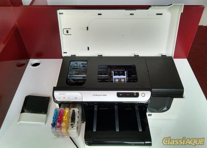 hp officejet pró 8000 tem que trocar cartuchos de impressão