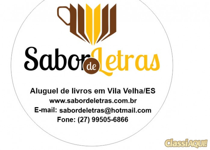 SABOR DE LETRAS - LOCADORA DE LIVROS