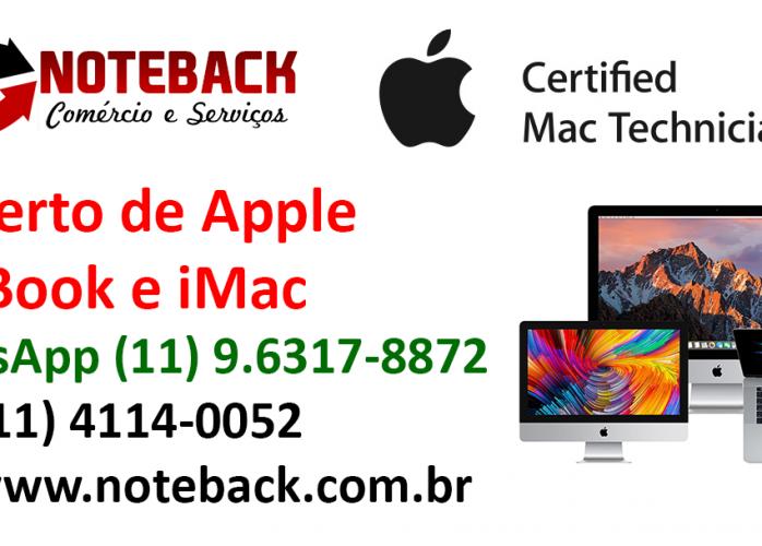 Assistência Técnica Apple IMac MacBook IPad Certificada