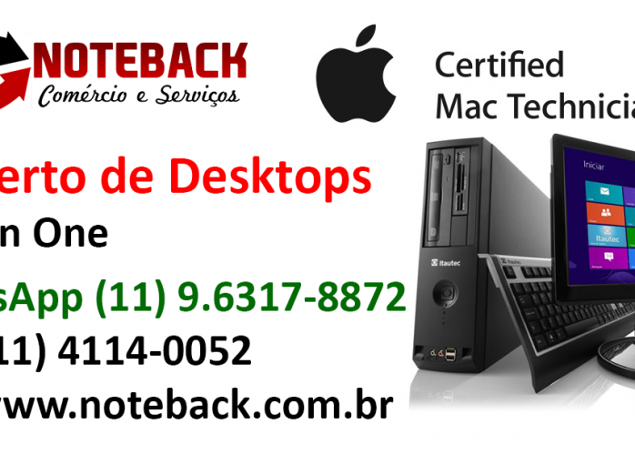 Assistência Técnica Desktop All in One Computador