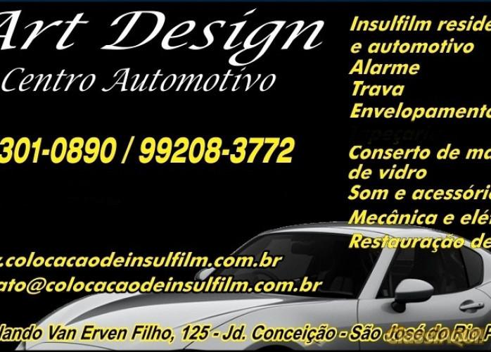 Art Design Insulfilm em Rio Preto