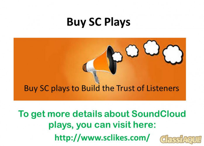 Buy SC Plays for Track Promotion