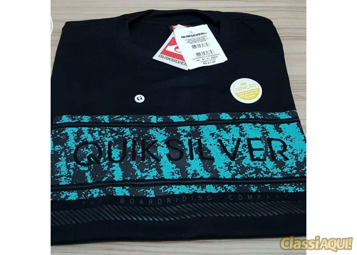 Camisetas Quiksilver em Atacado