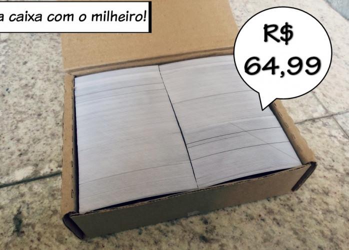Milheiro de Cartões Personalizados 64,99 Frete Grátis Qualidade Sensacional Envio Imediato