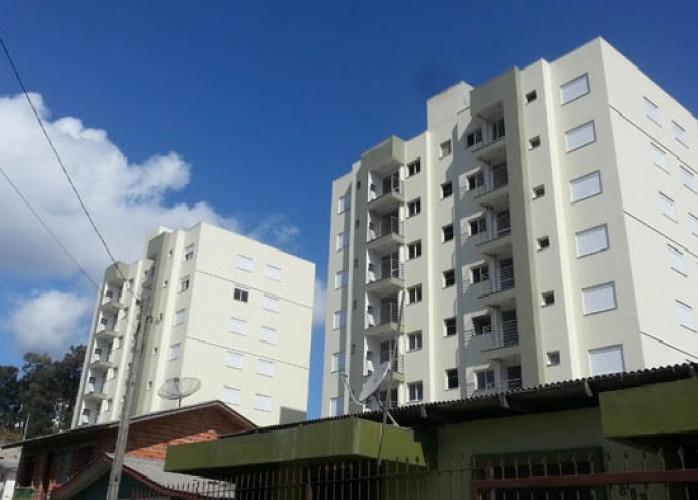 Barbada, Torro apartamento em Caxias do Sul, 02 dormitórios, elevador, 02 vagas garagem