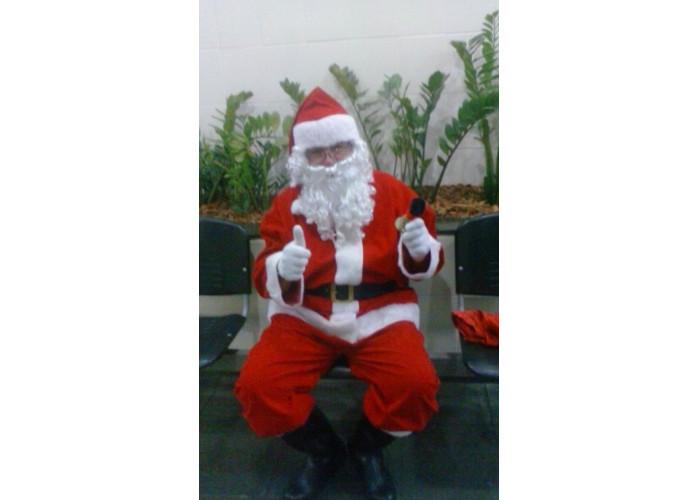foto de papai Noel para festas ,residencia e escolas