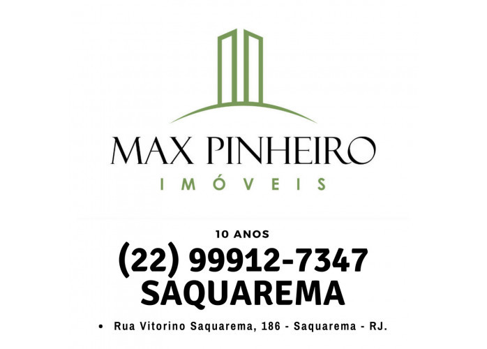 Corretor de Imóveis em Saquarema, Max Pinheiro Imóveis