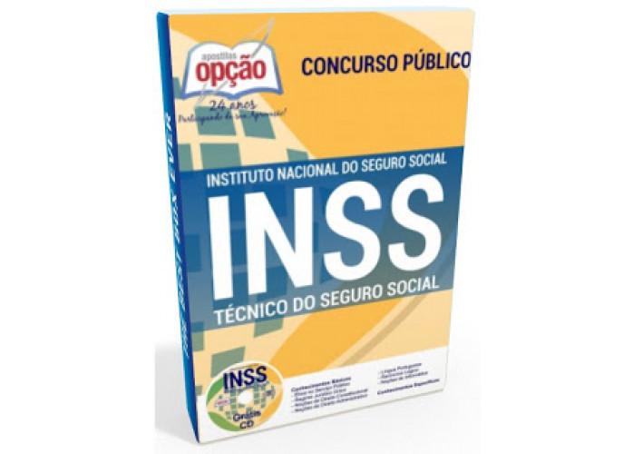 Apostila Impressa do INSS Técnico do Seguro Social - Preparatória