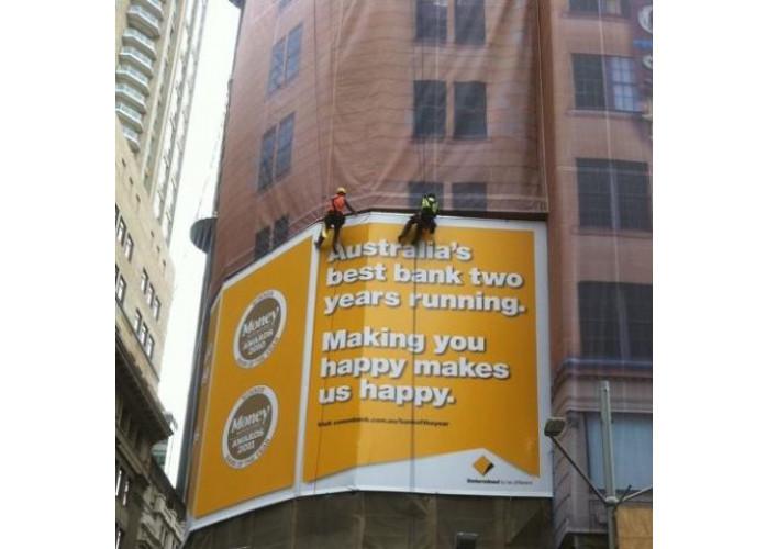 Instalação de banners lonas publicitarias rj rio de janeiro