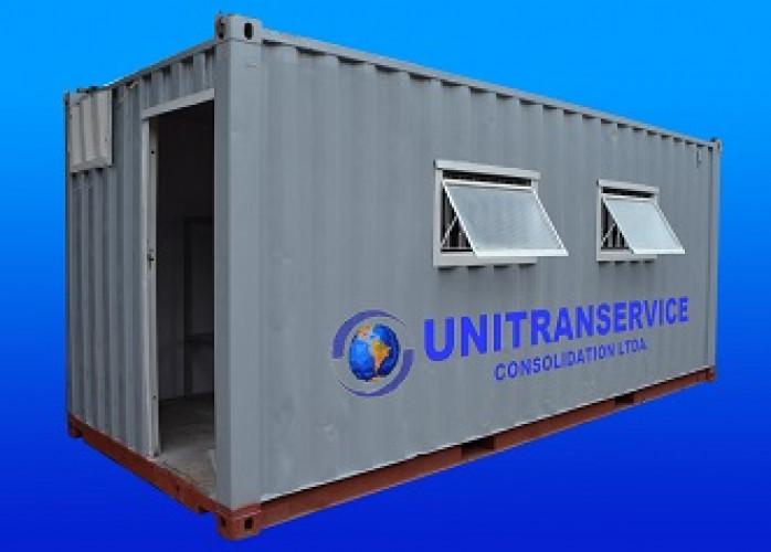 Locação e venda de containers marítimos adaptados para módulo habitável