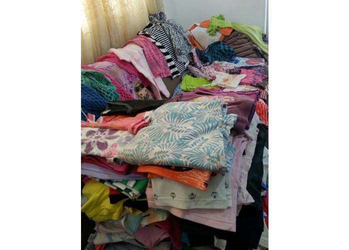 Aceito doação de roupa usada e móveis eletrodomésticos usados