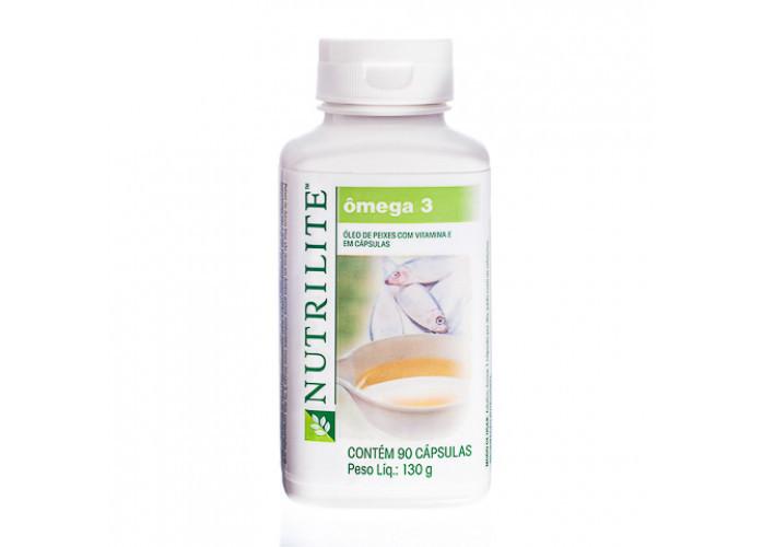 Ômega 3 – óleo de peixe com vitamina E