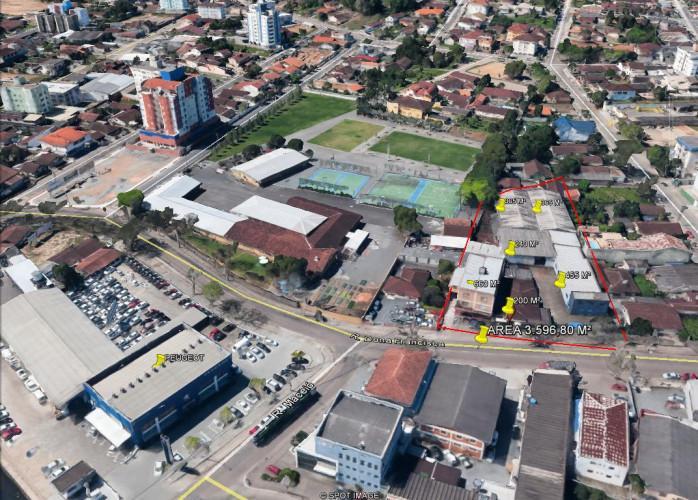 ÁREA COMERCIAL NOBRE – 3.596,80 m²