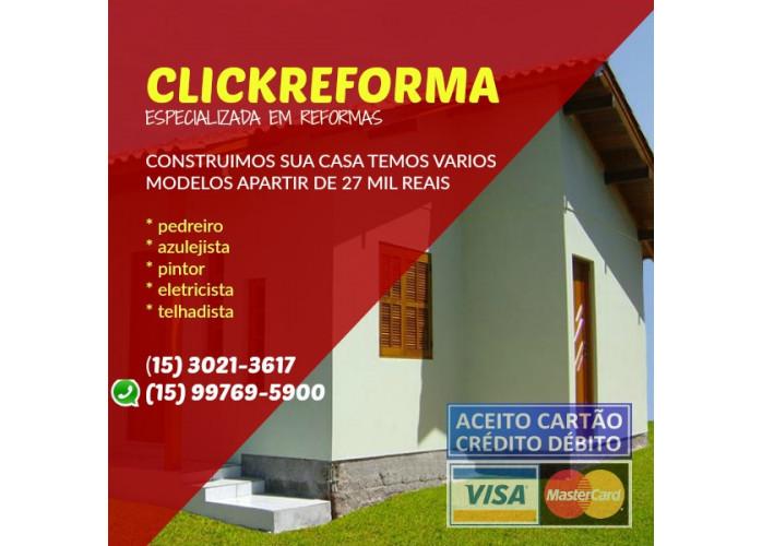 Construção de Casas e Reformas em Geral