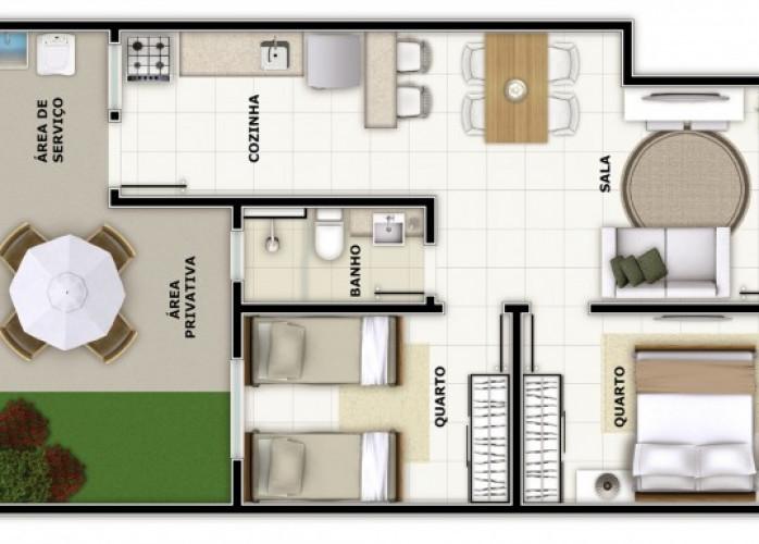 Apartamentos no Bairro do Carmo-Barbacena-MG