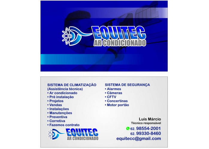 Manutenção e instalação de ar condicionado