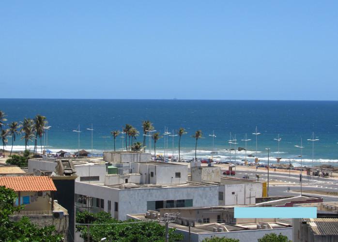 Apartamento no Costa Azul - Vista para o mar