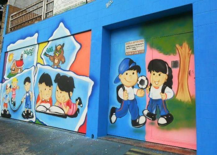 Pintura para escola e creche