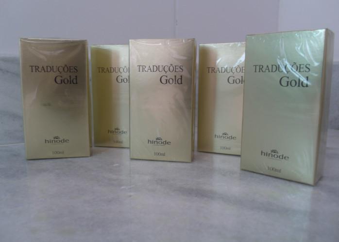 Perfumes Traduções Gold Hinode com 25% de Desconto