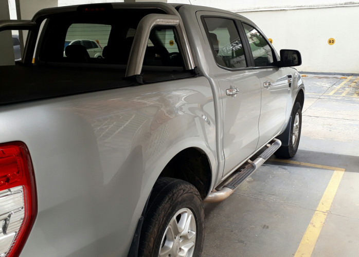 Ford Ranger XLT Flex Prata