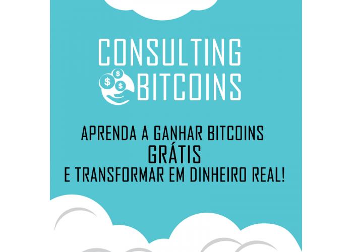 Aprenda como ganhar Bitcoin GRÁTIS e transformar em dinheiro real