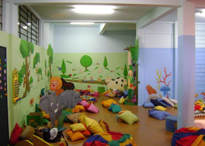 Escola Infantil com Berçário, Maternal e Jardim em Santo André.