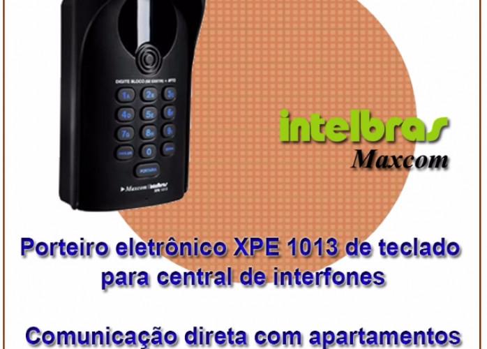 Porteiro eletrônico Intelbras/Maxcom XPE 1013 PLUS para central de interfones