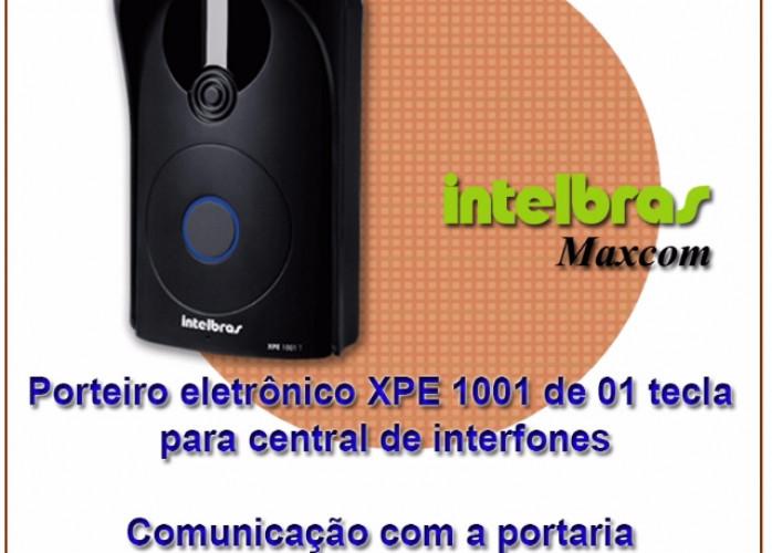 Porteiro eletrônico Intelbras/Maxcom XPE 1001 PLUS para central de interfones