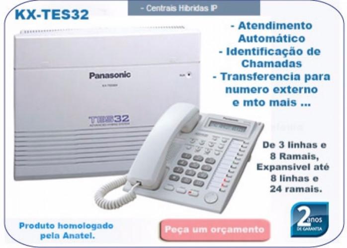 Central Pabx Panasonic KX-TES-32 BR