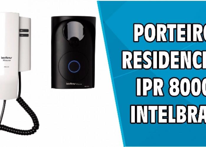 Porteiro Eletrônico Intelbras IPR 8000 Residencial