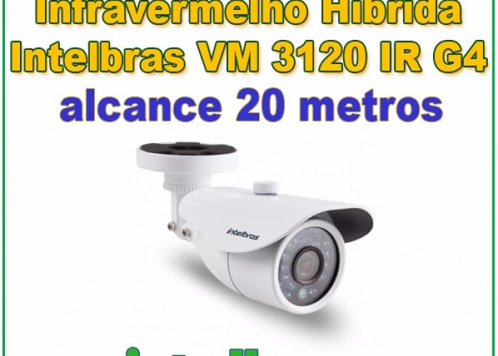Câmera de Segurança Intelbras VM 3120 IR G4