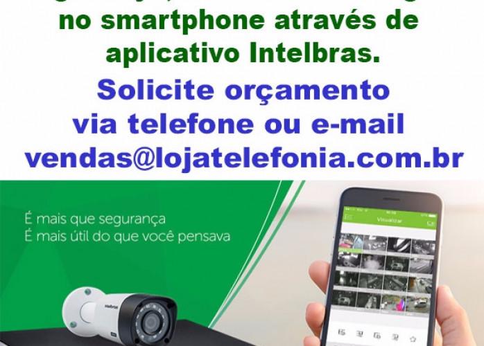 Instalação de Câmeras de Segurança - Ribeirão Pires, SP