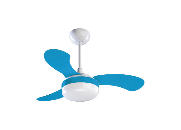 Ventilador de Teto Ventisol Petit 3 pás Azul 127V