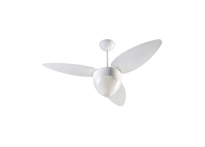 Ventilador de Teto Ventisol Wind Light 3 pás Branco 127V