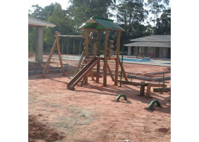 playground  casinha de tarzan de eucalipto