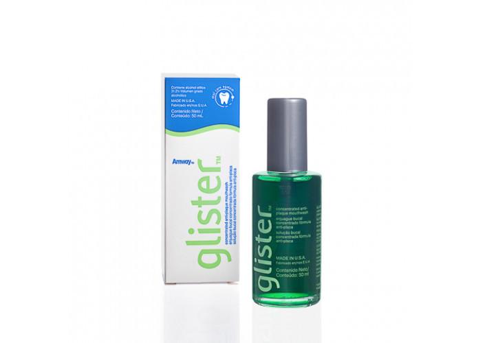 ENXAGUANTE BUCAL CONCENTRADO – GLISTER - Mantém o hálito fresco com sabor de menta