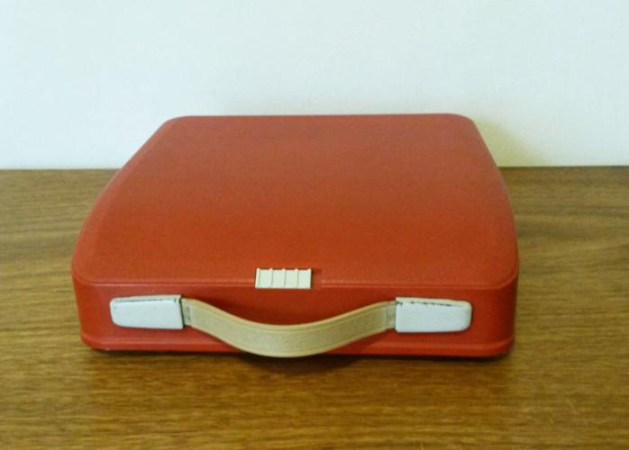 Máquina de Escrever Portátil (Hermes Precisa 6568980 Laranja)